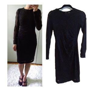 Black Ralph Lauren Black Lace Dress 0